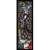 Tenyo Nightmare Before Christmas Stained Glass Gyutto Size Series Jigsaw Puzzle (456 Piece)