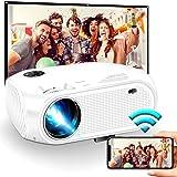 Proyector WiFi inalámbrico 4500L 2020 WEILIANTE Mini proyector de vídeo HD, compatible con Dolby 50.000 horas…