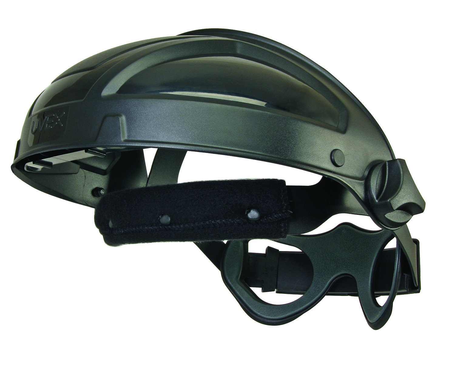 UVEX by Honeywell S9500 Uvex Turboshield Face Shield Headgear with Black Frame