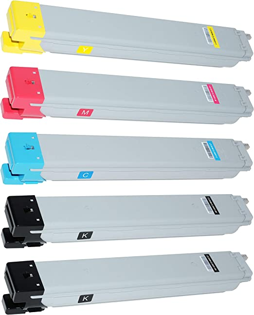 5 Toner Kompatibel Für Samsung Clx 9201 Na 9251 Na 9301 Na Multixpress Clt K809s Els Clt C809s Els Clt M809s Els Clt Y809s Els Schwarz 20 000 Seiten Color Je 15 000 Seiten Bürobedarf Schreibwaren