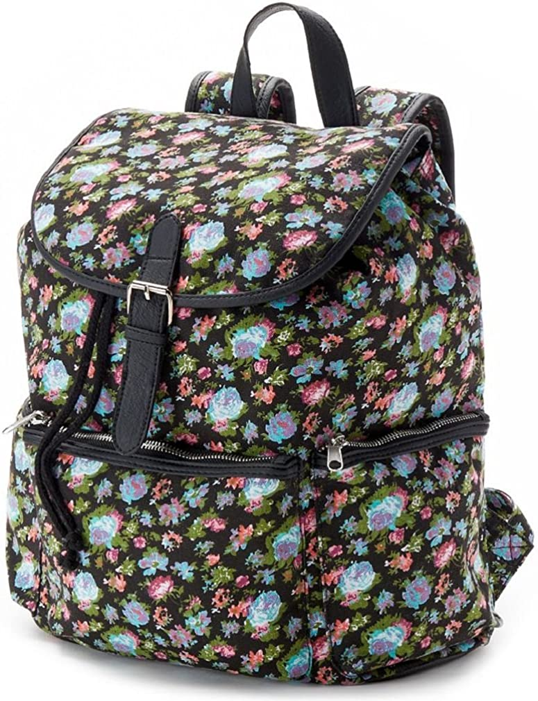 Candie s Nicole Floral Backpack