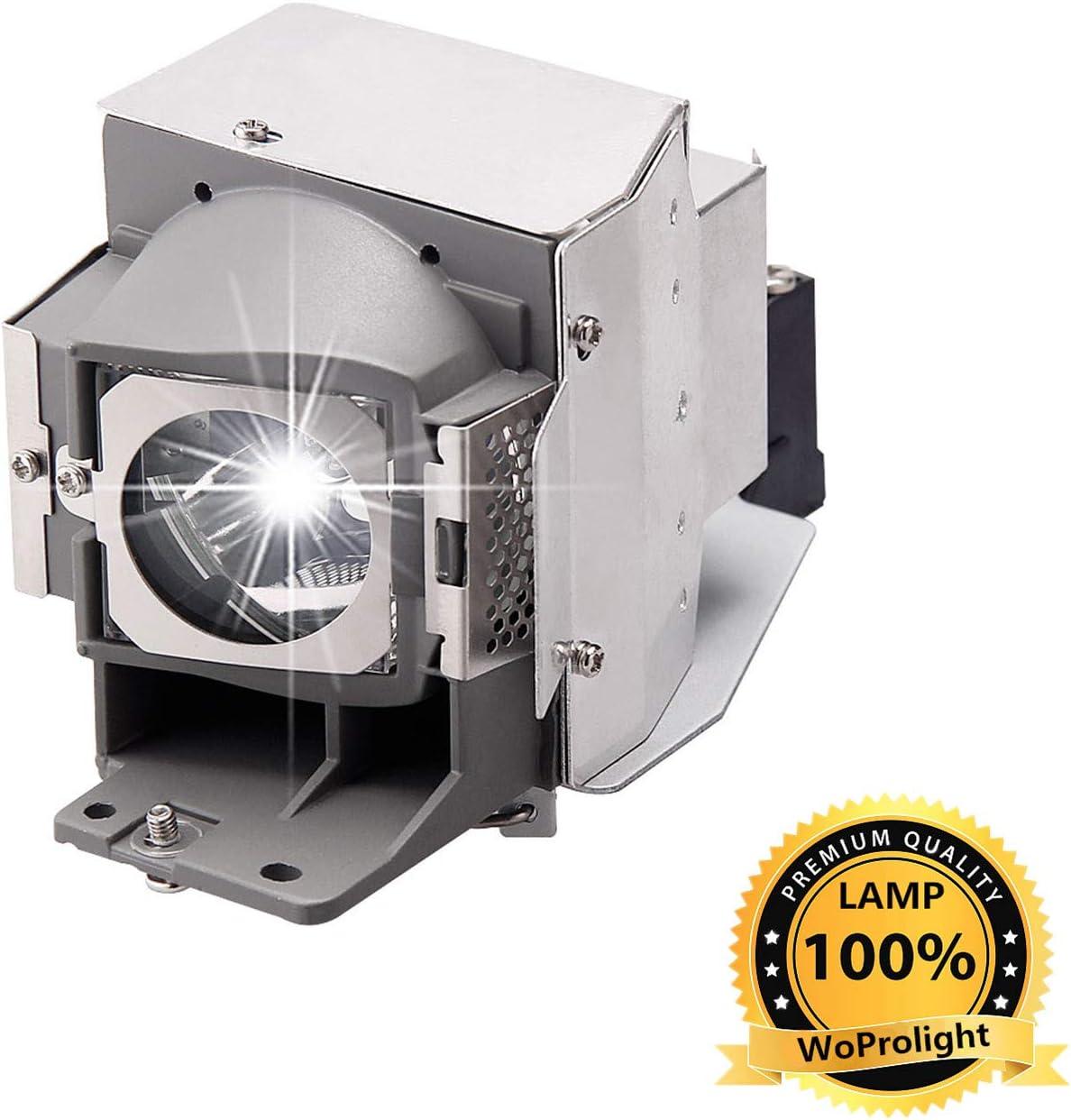 5J.J9H05.001 Projector Lamp Bulb for Benq W1070 W1080ST HT1075 HT1070A HT1085ST W1070+,Original Lamp with Housing WoProlight 5J.J7L05.001