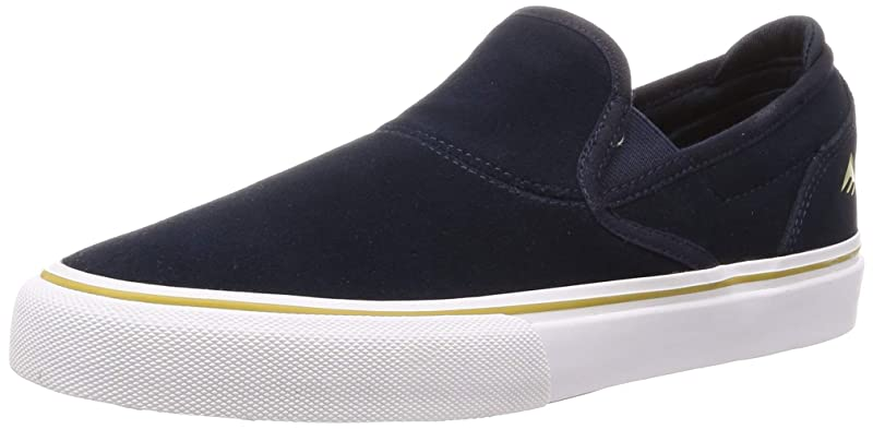 Emerica Wino G6 Slip-On Sneakers Herren Marineblau/Weiß