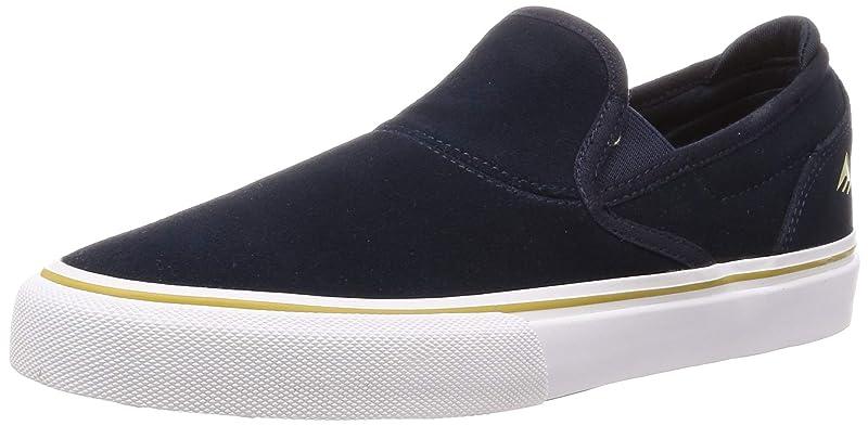 Emerica Wino G6 Slip-On Sneakers Herren Marineblau/Weiß