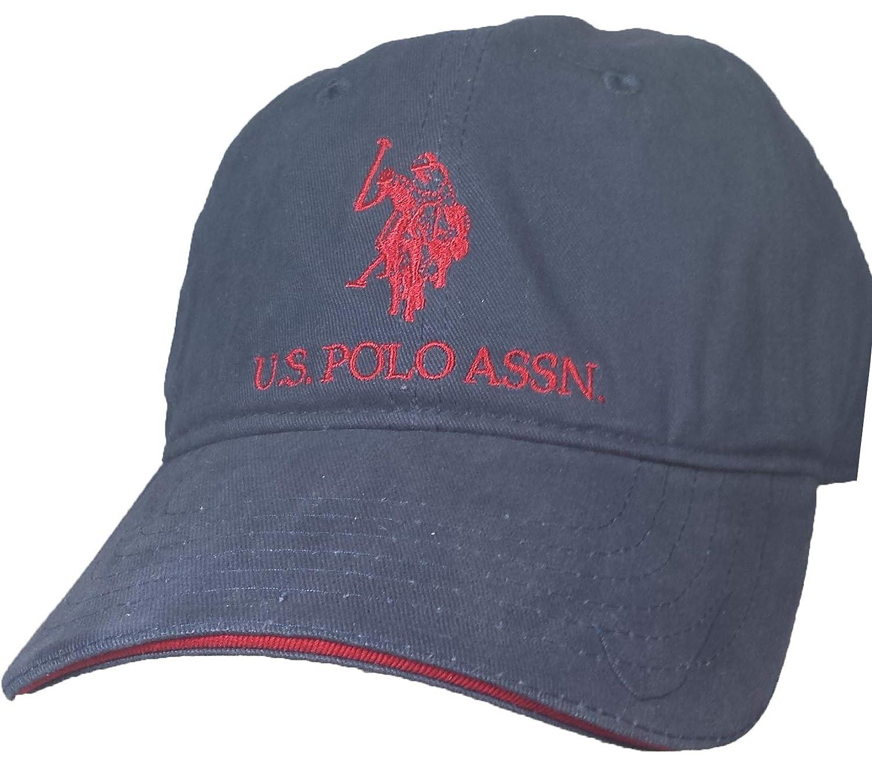 U.S. Polo Assn. Gorra Ajustable de Caballo sólido para Hombre ...