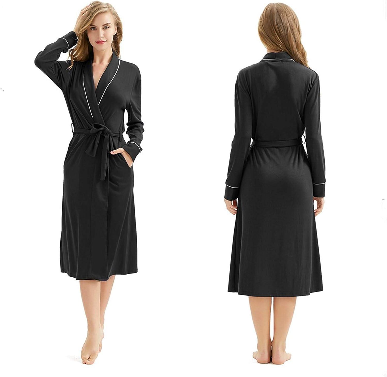 Women Robes Warm Soft...