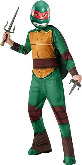 Tortugas Ninja - Disfraz de Raphael, para niños, talla L (Rubies ...