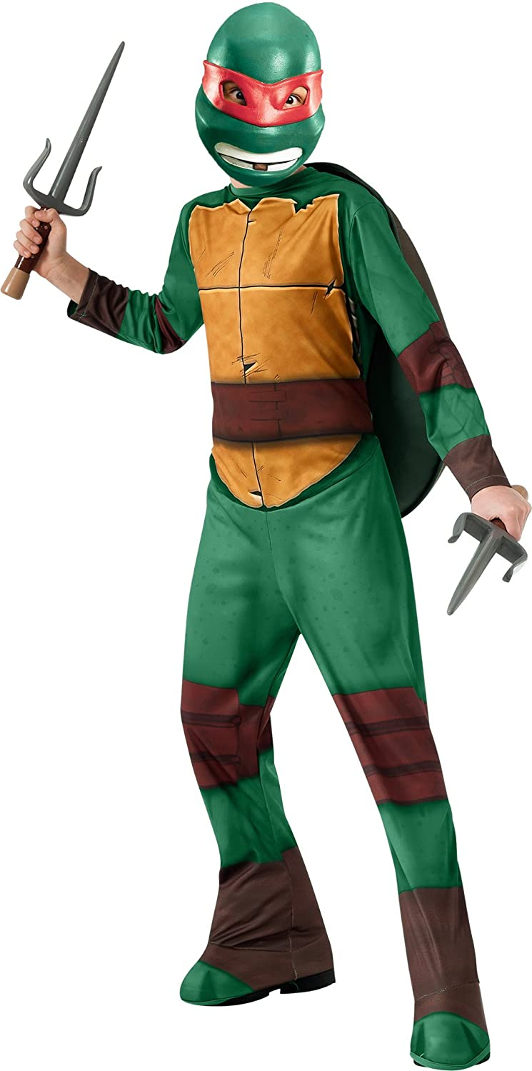 Amazon.com Teenage Mutant Ninja Turtles Raphael Costume Small Toys u0026 Games  sc 1 st  Amazon.com & Amazon.com: Teenage Mutant Ninja Turtles Raphael Costume Small ...