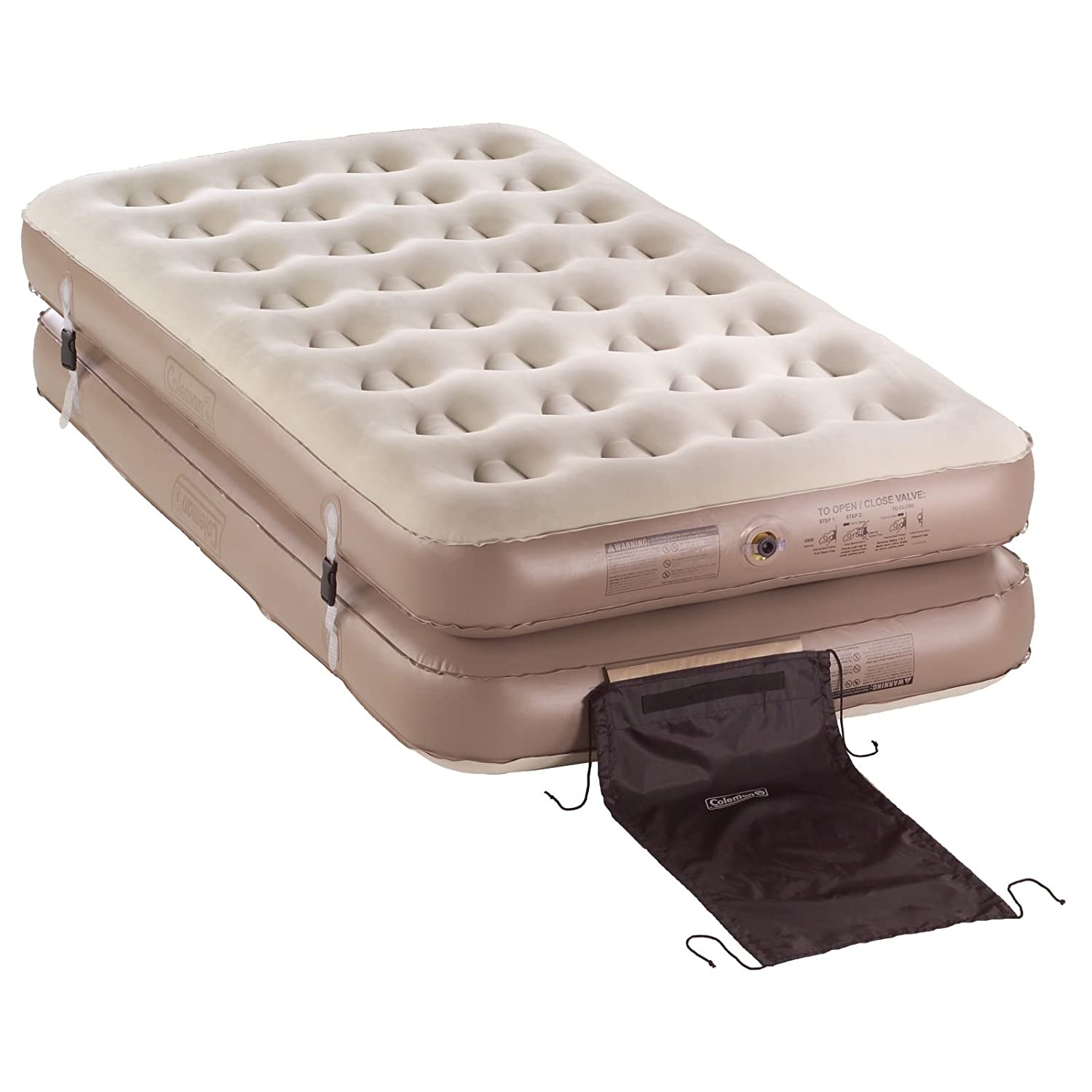 queen size air mattress coleman. Amazon.com: Coleman 2000010283 QuickBed 4-N-1 Airbed, Twin/King: Sports \u0026 Outdoors Queen Size Air Mattress R