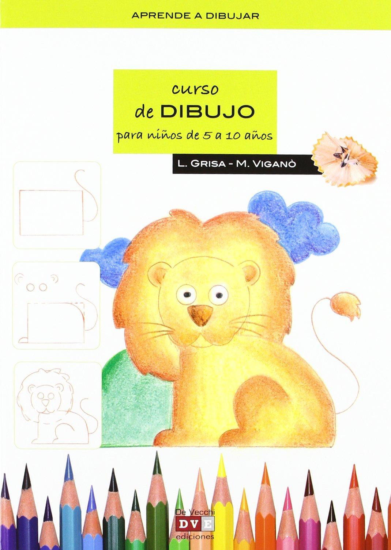 Curso de dibujo para niños de 5 a 10 años: Amazon.es: Grisa ...