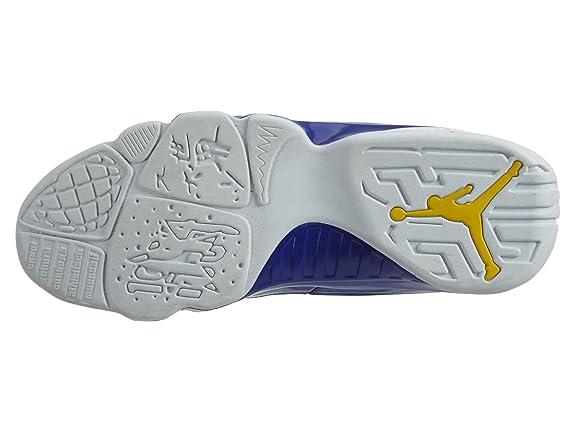 new styles 07bc4 43374 Amazon.com   NIKE Men s Air Jordan 9 Retro White Yellow 302370-121 (Size   13)   Basketball