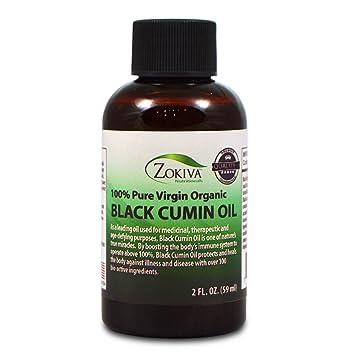 Black Cumin Seed Oil 100% Pure, Cold Pressed, Virgin Organic Nigella Sativa  2oz
