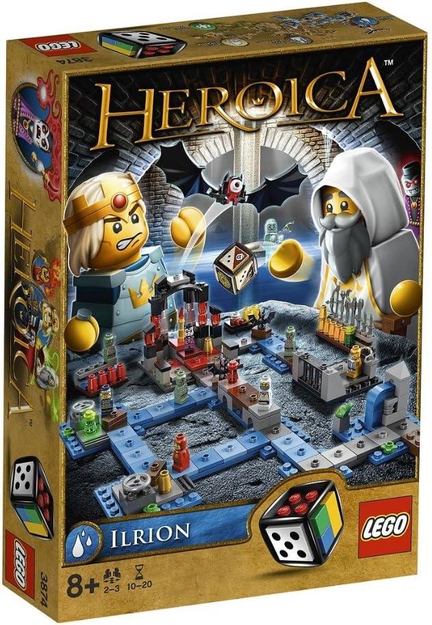 LEGO Juegos de Mesa 3874 - Heroica Ilrion: Amazon.es: Juguetes y ...