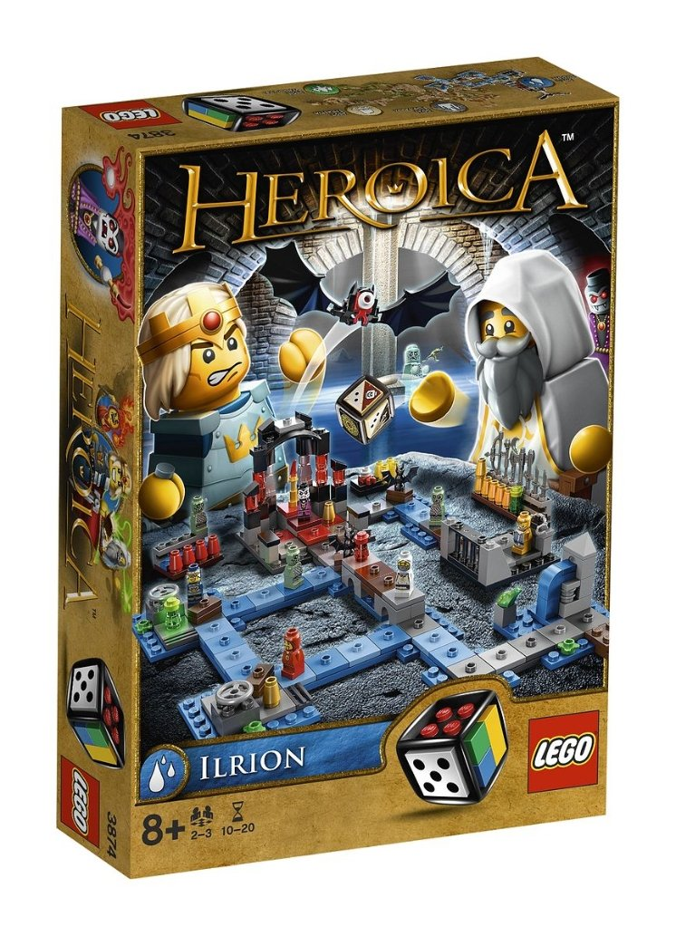 LEGO Juegos de Mesa Heroica Ilrion