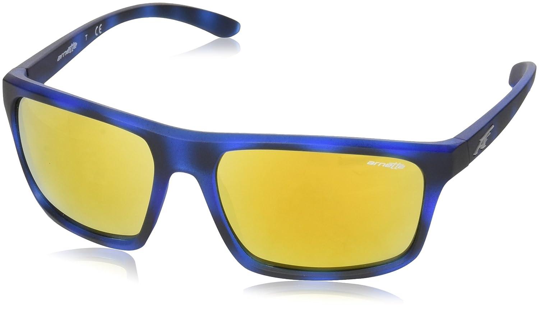 Arnette Sandbank, Gafas de Sol para Hombre, Matte Blue Havana, 61
