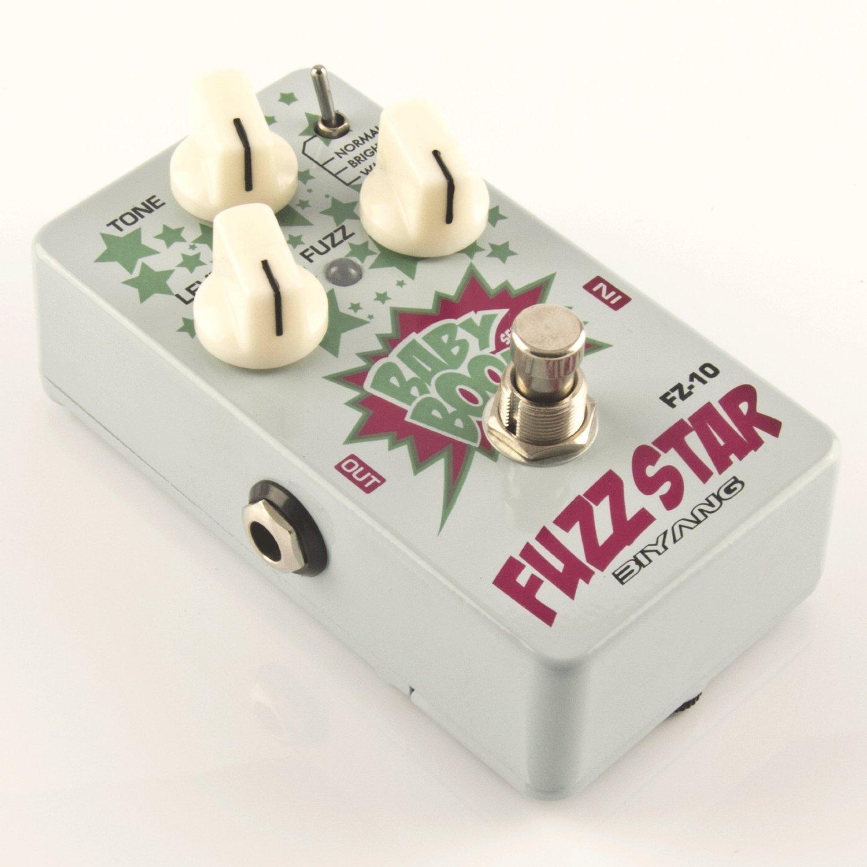 Biyang FZ10 Fuzz Star Gitarren Distortion Effekt Pedal & Big Muff Clone biyang FZ 10
