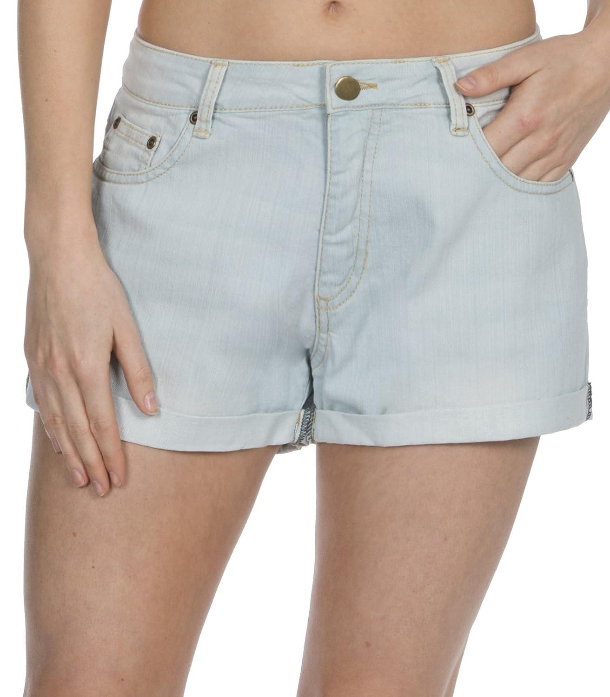 Lora Dora Womens Denim Shorts Stretch Hot Pants Shoe Directory
