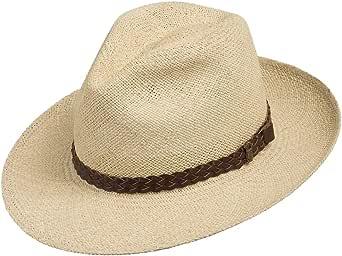 Ultrafino Fedora Packable Foldable Panama Straw Hat Classic