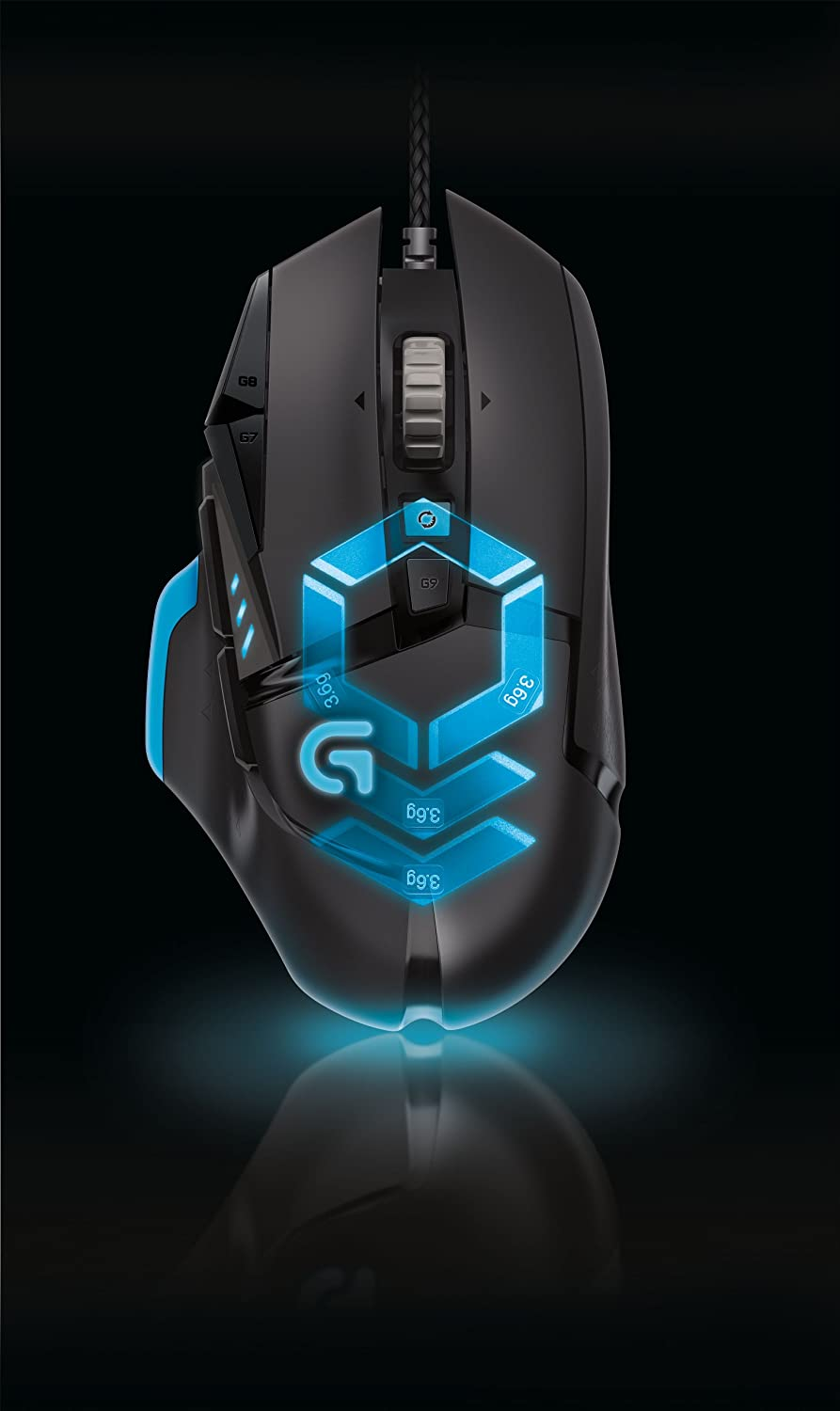 LOGICOOL G502 tunable Gaming Mouse G502