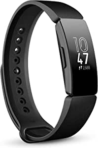 Fitbit FB412BKBK Inspire Health and Fitness Tracker with Auto-Exercise Recognition, 5 Day Battery, Sleep and Swim Tracking, Black