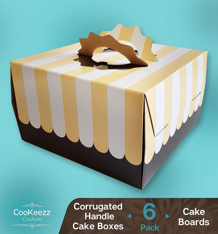 Amazon.com: Cookeezz Couture - Cajas de colores para tartas ...