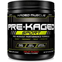 Kaged Muscle Pre Workout Powder Sport for Men and Women, Increase Energy, Focus, Hydration & Endurance, Organic Caffeine…