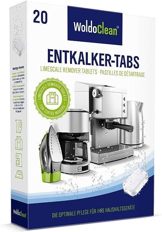 Pastillas descalcificadoras 20x 16g para máquinas de café - totalmente automáticas compatibles con todas las máquinas de café: Amazon.es: Hogar