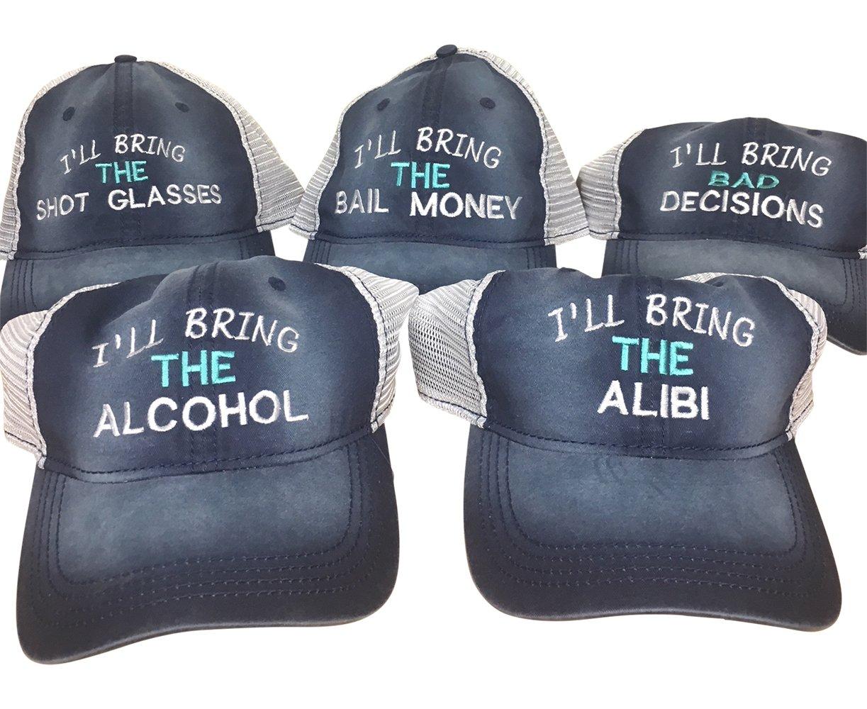 The Hat Pros I'll Bring Set of 5 Caps