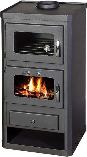 Estufa de leña horno cocina chimenea quemador de leña Combustible ...