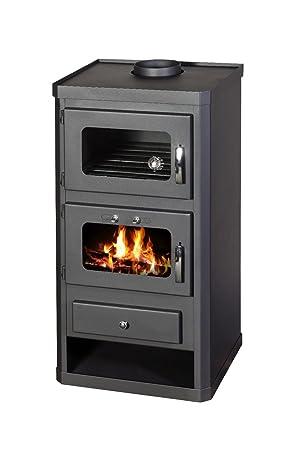 Estufa de leña agua chaqueta horno cocina chimenea quemador de leña 10 kW Norma FTB: Amazon.es: Bricolaje y herramientas