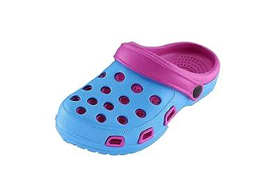 brandsseller Damen Clogs Pantoffel Schuhe Gartenschuhe Hausschuhe - Farbe: Gelb/Grün - Größe: 38 - von Brandseller ca4etg
