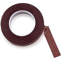 Vardhman Floral Cloth Tape Brown Color, Pack of 2 pcs, 35 MTS Each