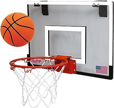 Rawlings Sporting Goods Game On Basketball Backboard Hoop Set