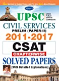Kiran's UPSC Civil Services Prelim (Paper-I) 2011-2017 CSAT Chapterwise Solved Papers - 2101