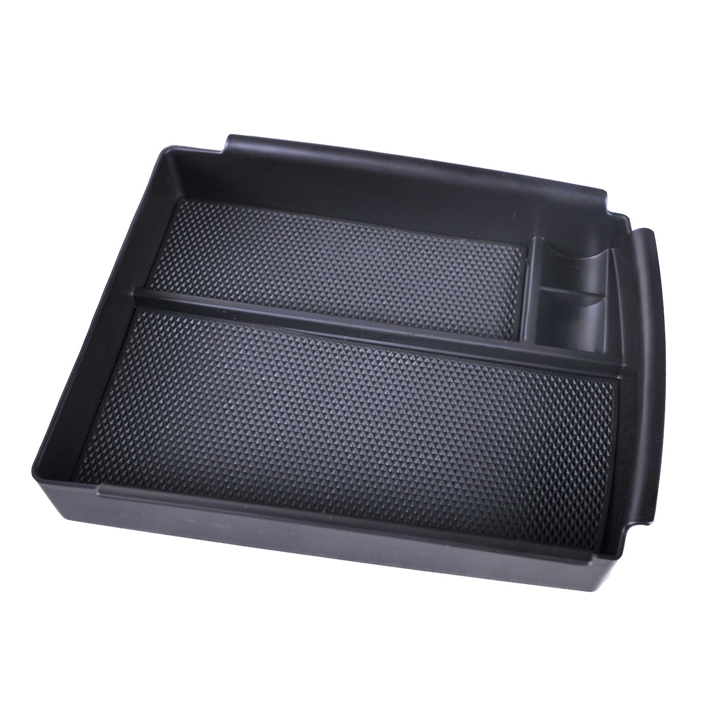 Black Version omotor Center Console Organizer Portable Silicone Center Container//Cup Holder fit for Tesla Model S 2012-2017