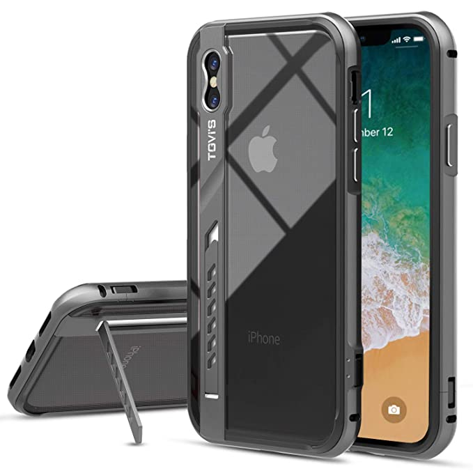 online retailer 99b2a 83a27 Amazon.com: OCYCLONE TGVi'S iPhone X Case, Vintage Clear Protective ...