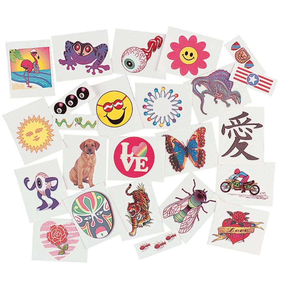Temporary Tattoo Assortment (720 pc) by Fun Express