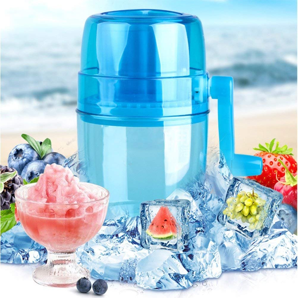 XDOBO Automatic Ice Cream Maker, DIY Ice Cream Grinding,Snow Cone Smasher Grinder, Manual Ice Crusher Shaved Ice Machine Portable Ice Breaker,Non-Slip,Ice Cream Machine for Kids
