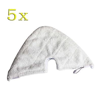 5pcs lavable Super absorbant Triangle Coussinets en microfibre pour Shark Pocket nettoyeur vapeur S3501S3601P118W