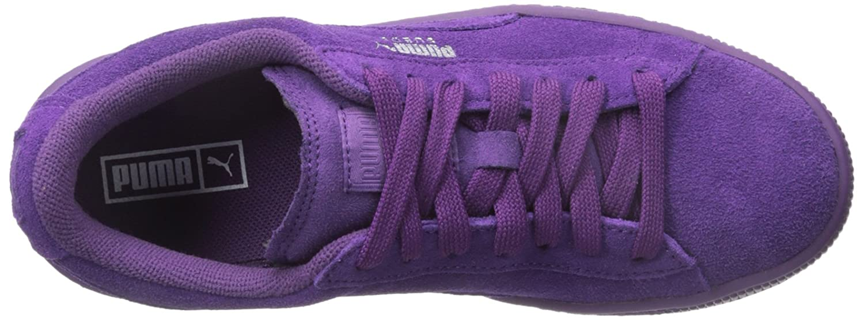 PUMA Sneaker Suede JR Classic Kids Sneaker PUMA (Little Kid/Big Kid) B012ZK8DRY 5 M US Big Kid|Imperial Purple/Imperial Purple 33edc4