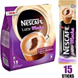 Nestle Nescafe Latte Mocha Coffee (31 g) - Pack of 15