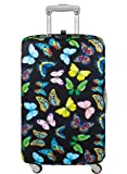 LOQI Wild Luggage Cover M, Butterflies
