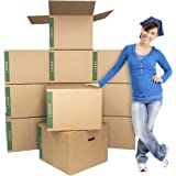 """Large Moving Boxes Pack of 12 with Handles– 20"""" x20"""" x15"""" – Cheap Cheap Moving Boxes"""