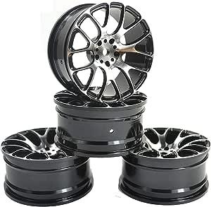 4pcs Aluminum 20 Claw Wheel Rims for RC 1:10 On-Road Racing Car Drift Car