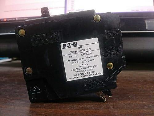 Eaton BRP120AF Breaker, 20A, 1P, 120 240V, 10 kAIC, Type BR Combo AFCI