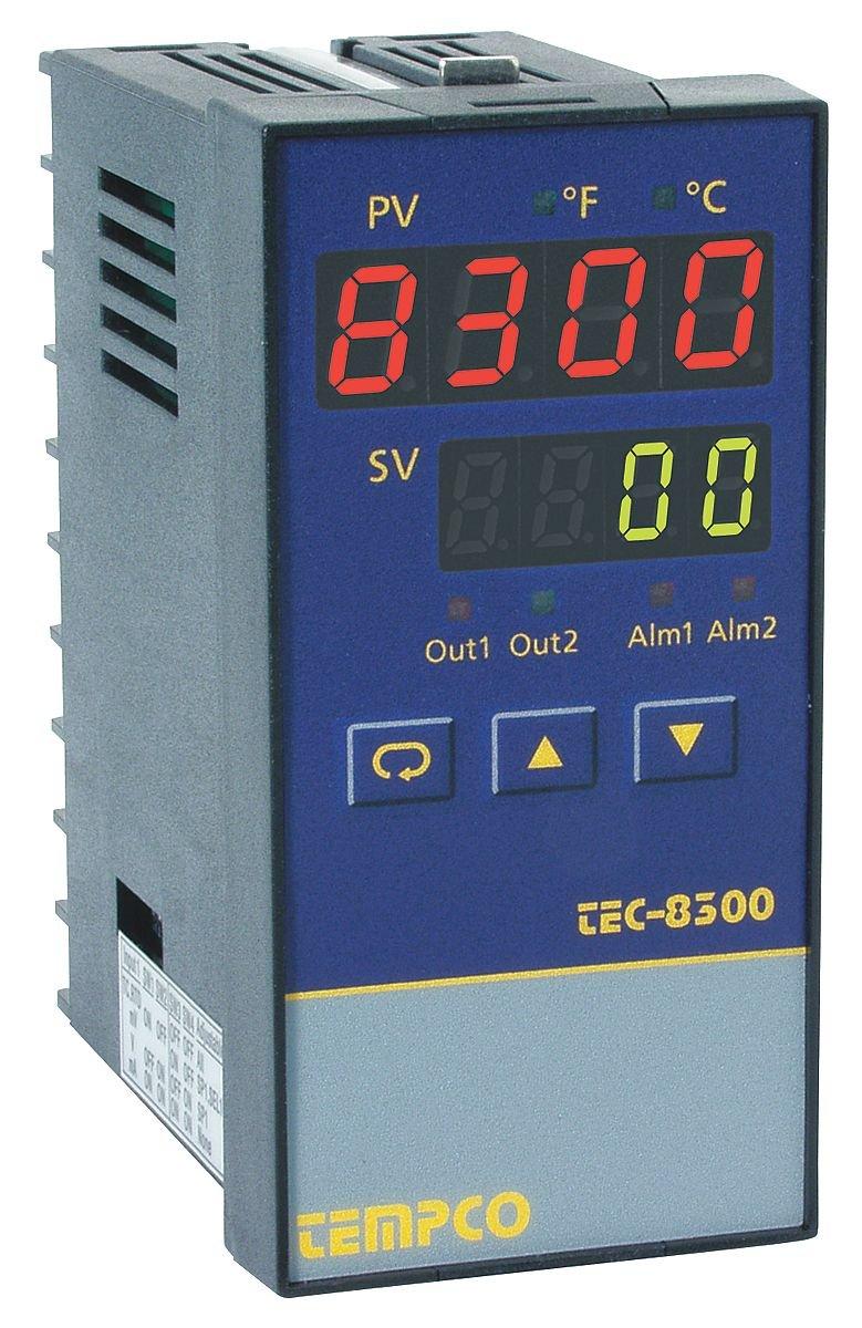 Temp Ctrl 90-264VAC 1//8Din SSR//2 Relay