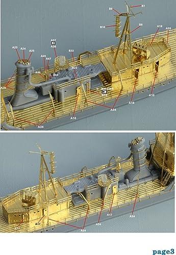 1/700 日本海軍砲艦 宇治 1945 アップグレードセット