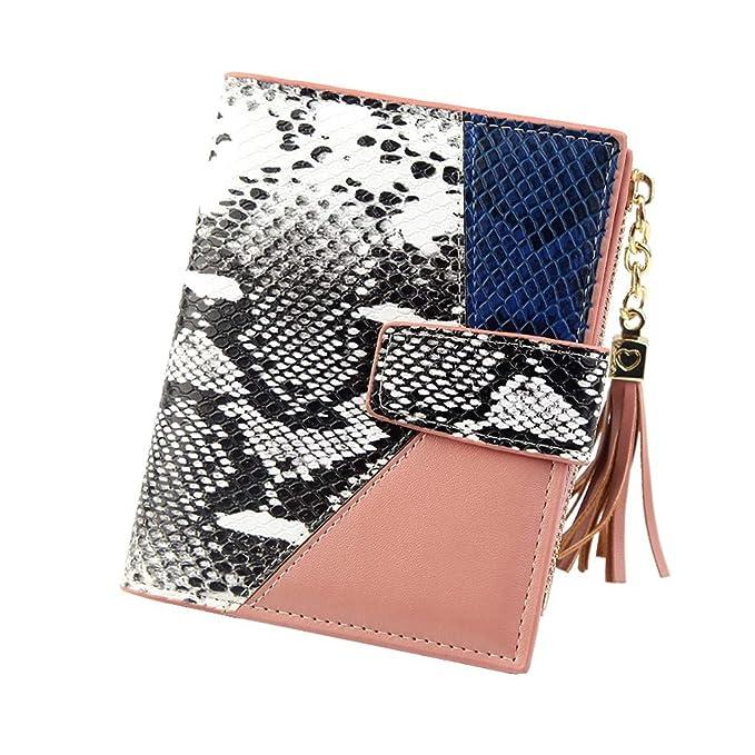 Amazon.com: Thenxin - Monedero para mujer, diseño de ...