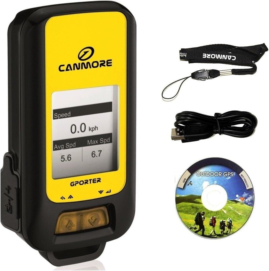 G-PORTER dispositivo multifuncional GPS (amarillo)