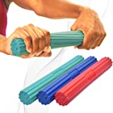 DMoose Flex Tennis Elbow Bar for Physical Therapy, Improve Grip Strength Hand Forearm Strengthener for Golfers, Rehab, Tendon